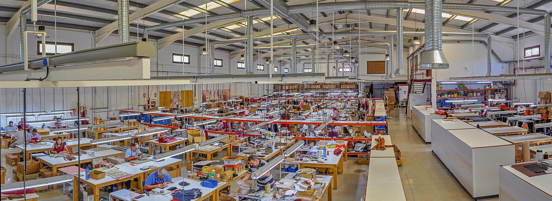 Fabrica Cache artesanos Ubrique